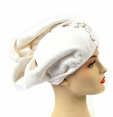 GirlFriend ! Microfibre Hair Turban Towel . Quick and Easy Way to Dry Your Hair
