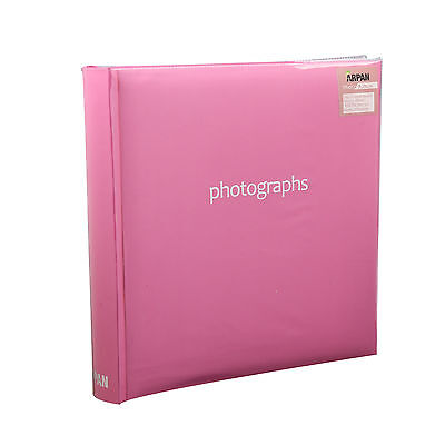 Pink Large Memo Slip In Case Girls Photo Album 200 6 x 4 Photos - SM200PK