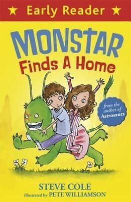 Monstar Finds a Home (Early Reader), Cole, Steve, New Book