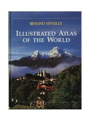 Illustrated Atlas of the World by Rand McNally Book The Cheap Fast Free Post