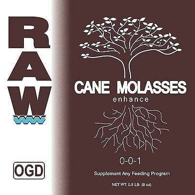 RAW Soluble Nutrients - CANE MOLASSES Source of Carbon Energy