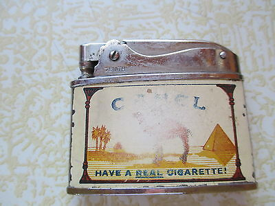 Vintage Camel  LIGHTER refillable camel Joe