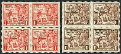 GB #203-04 Never Hinged Empire Set of Blocks