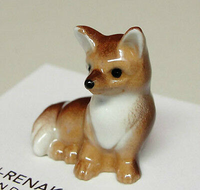 ➸ HAGEN RENAKER Animal Miniature Figurine Fox Baby Cub