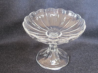 Elegant Heisey Crystolite #1503 High Footed Candy/Condiment Dish