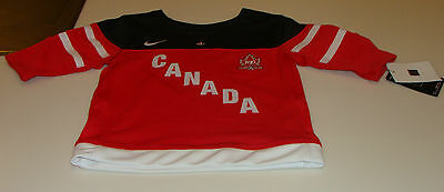 Canada 2015 World Juniors Hockey Jersey IIHF 100th Anniversary Age 6 Kids
