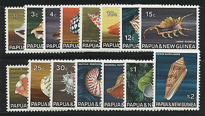 Papua New Guinea shells Stamps