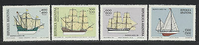 Argentina boats Stamps