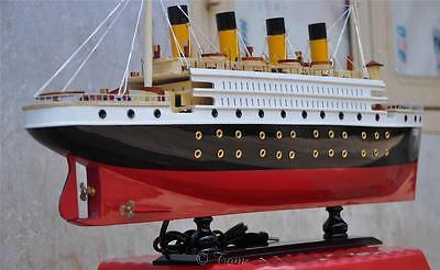 "23"" TITANIC Wood Model Ship -  Museum Quality British Cruise Passeger Sail Boat"