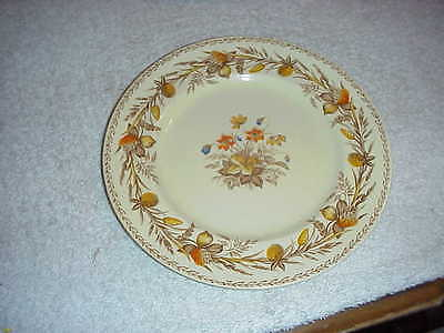 """Victorian Johnson Brothers England 8"""" Plate - Old English Clover Pattern"""