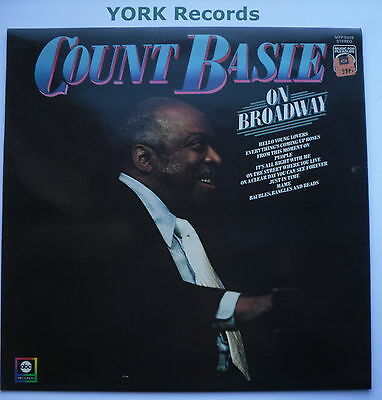 COUNT BASIE - On Broadway - Excellent Condition LP Record MFP 50319