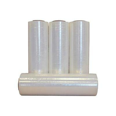 "18"" x 1500' 80 Gauge 4 Rolls Pallet Wrap Stretch Film Hand Shrink Wrap 18x1500"