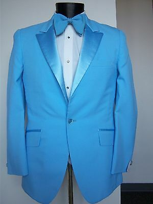 Vintage Baby Blue Tuxedo Jacket -Dumb & Dumber style- many sizes available