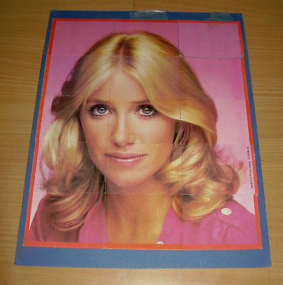 Vintage 1978 Three's Company 15 Pc Puzzle Suzanne Somers ABC TV