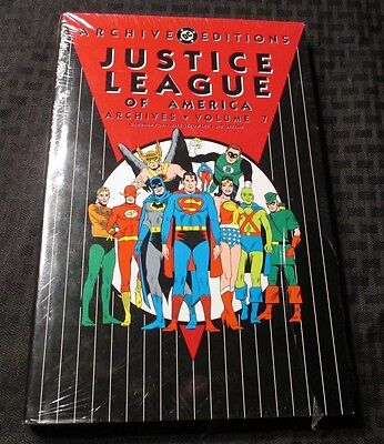 Justice League of America Archives v.7 HC Sealed FOX Sekowski GREENE