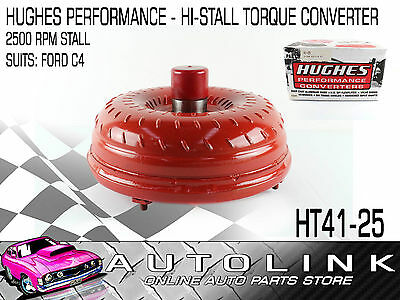 Hughes Performance Histall Torque Converter Suit Ford C4 Trans 1970-81 26 Spline