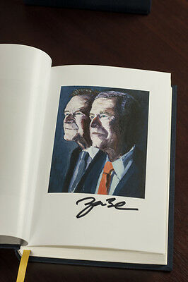 George W. Bush SIGNED Deluxe Edition Book 41: A Portrait of My Father w/ COA