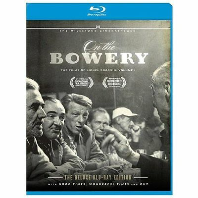 On the Bowery-Films of Lionel Rogosin V01 (Blu-Ray/2 Discs)