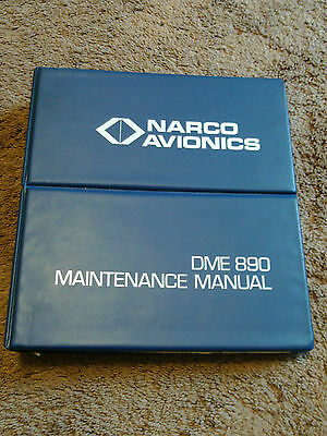 NARCO DME 890 Service Maintenance Manual Installation Distance Measuring Equip