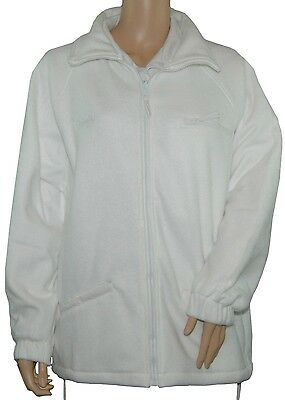 CATHEDRAL Arcticfleece Full Zip Jacket Ladies Bowls Polyester Fleece White