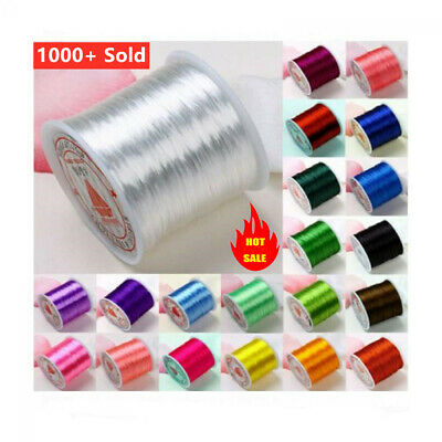 Strong Stretch String Jewelry Beads Repair DIY Crafts Making Elastic Thread Cord