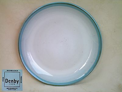 """New Denby Intro Light Blue Side Plate 8.25"""" dia Several Available"""