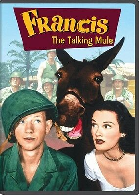 Francis the Talking Mule (DVD, 2012) Sealed Fullscreen New Movie