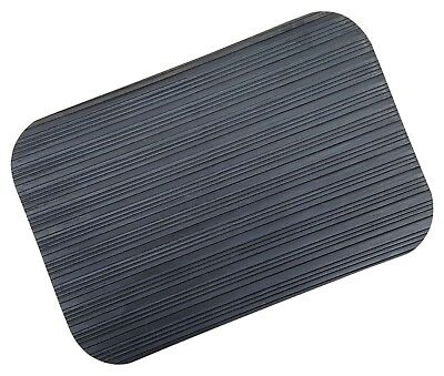 ACCLAIM Kneeling Mat Bowls Bowlers Umpire Black Ribbed Rubber 30 cm x 20 cm