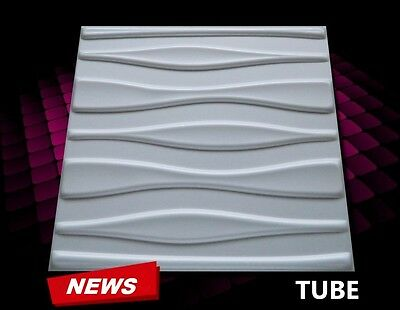 3D WALL CEILING PANELS POLYSTYRENE TILES (Pack of 24) 6 Sqm - TABS 3D