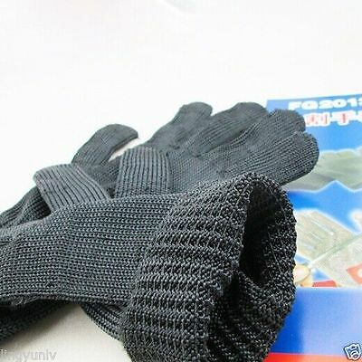 Five Level Cut Resistant Gloves Nylon Steel Wire Wear Resisting Glove Hot