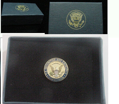 New  United states Securities and Exchange Commission lapel pin