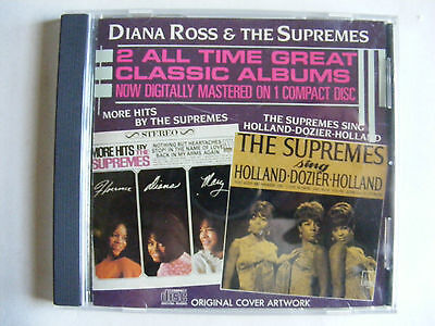 The Supremes - More Hits/Sing Holland-Dozier-Holland - CD - Made in Japan for US