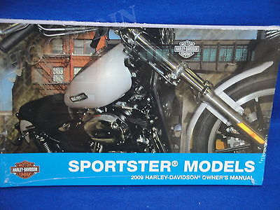 2009 Harley Davidson sportster xl 1200 883 hugger low custom owners manual