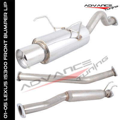 Special Offer 02-06 Acura RSX Type-S 2Dr Catback Exhaust System 4 Muffler Tip SS