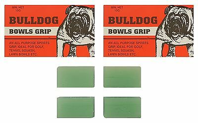 BOWLS Grip Aid Bull Dog Bowls Grip All Purpose Sports Grip Four Blocks 20g Total