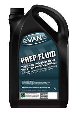 Evans Waterless Engine Coolant - Preparation / Flush Fluid - 5 Litre