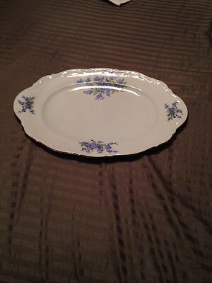 Mitterteich Bavarian China Platter From Germany 023
