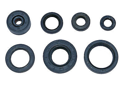 Yamaha DT125R engine oil seal set (89-03) including water pump seal - new