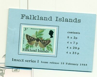 INSETTI - INSECTS FALKLAND ISLANDS 1985 booklet