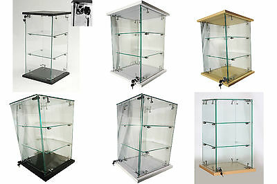 Lockable Countertop Glass Display Cabinet|Showcase Retail Shop High Quality