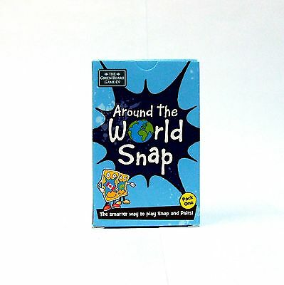 Around the World Pack 1 Snap Pairs Cards Memory Game for 7+ from Brainbox NEW