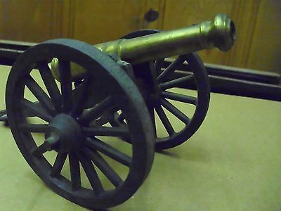 Miniature, Souvenir, Civil War Cannon, 60's, St Augustine Fla.#