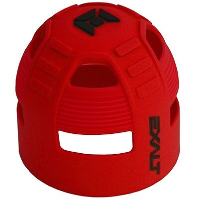 Exalt Tank Grip - Fits All HPA Tanks - Red/Black - Paintball - NEW