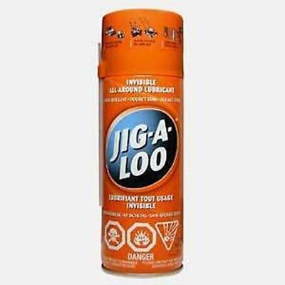 Jig-A-Loo Spray 311gr - Canada's Best Lubricant - Box of 12 Cans