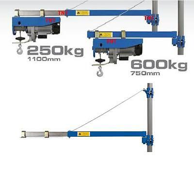 Carrier Bracket Swing-arm Rope Winch Cable Pull Hoist
