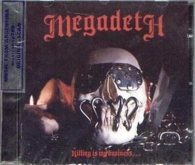 MEGADETH KILLING IS MY BUSINESS SEALED CD NEW