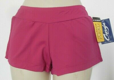 NWT Capezio MC600 Mulberry Booty Boy Shorts Ladies Sizes Dance Cheerleading