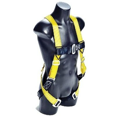 Guardian 01700 Velocity Economy Harness HUV S-L Pass Thru - Chest, Legs