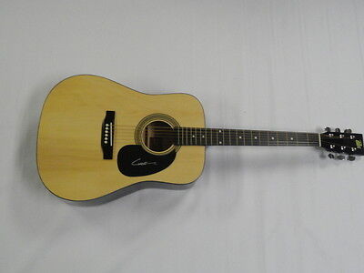 Chase Bryant Signed Full-Size Natural Acoustic Guitar Country Superstar