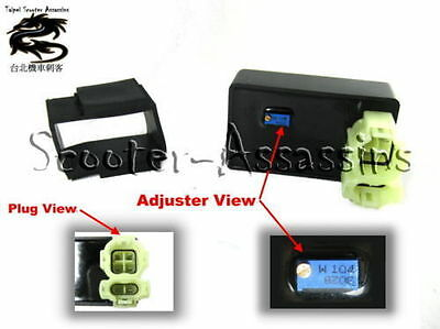 ADJUSTABLE UNRESTRICTED CDi for JINLUN 50cc-150cc+